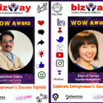 Bizway- An Online Presence Platform Talk Show Presents WOW Awards to the Guests of the Month
