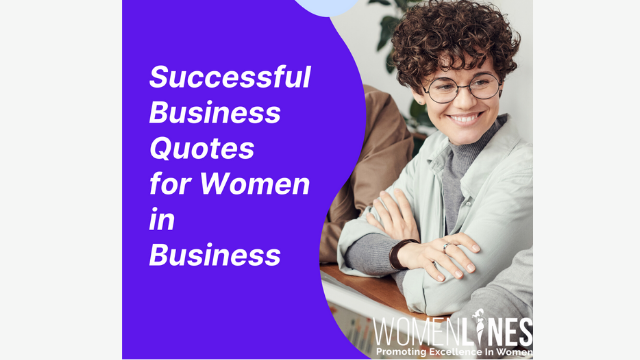 Successful Business Quotes for Women in Business