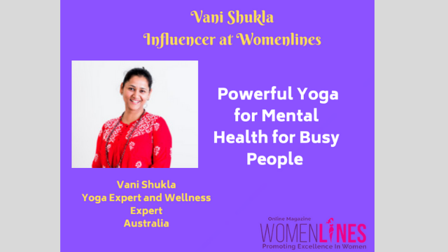 Powerful Yoga for Mental Health for Busy People