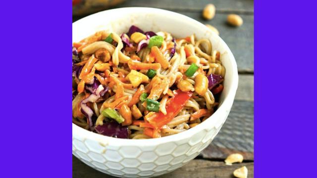 Healthy Recipies for Healthy You: Peanut Salad
