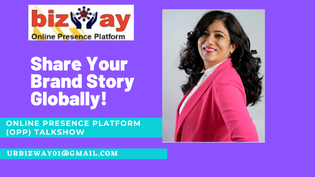 Why is Digital Story Telling at Bizway Online Presence Platform is Required today?