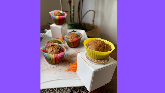 Healthy Recipies for Healthy You: Carrot Muffins