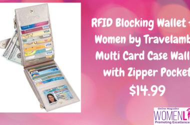 RFID Blocking Wallet for Women